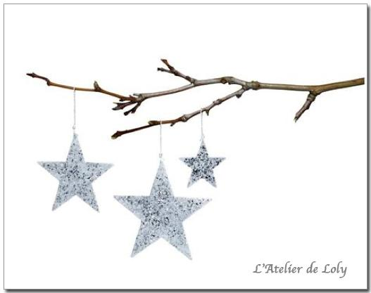 Décorations Tilda - Antique Stars