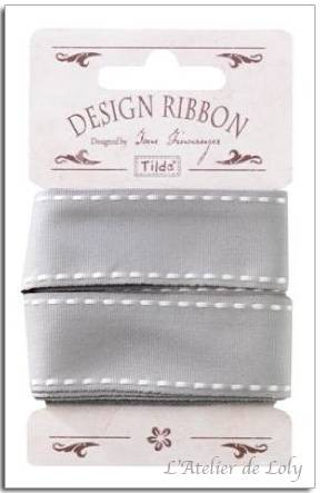 Ruban Tilda Seams Lin Grey