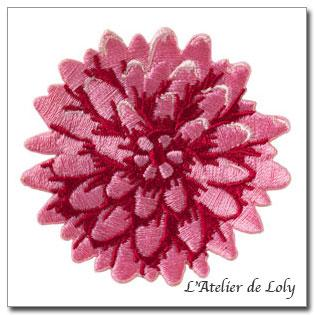 Applique Tilda Chrysanthem